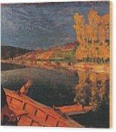 France, Ile De France, Paris, Muse Wood Print