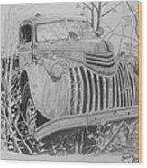 46 Chevy Treasure Wood Print