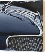 Classic Ford Detail Wood Print