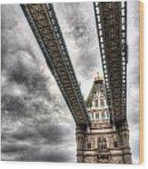 Tower Bridge London Wood Print