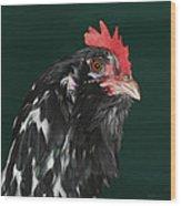 47. Bearded Hen Wood Print