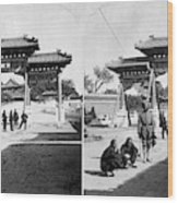 China Boxer Rebellion Wood Print