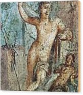 Naples Archeological Museum Roman Art Wood Print