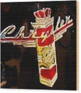 47 Packard Logo Wood Print
