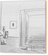 New Yorker May 8th, 2006 Wood Print