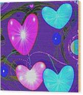 472 -  Valentine Hearts  ... Wood Print