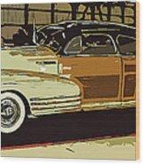 '48 Chevy Cool Wood Print
