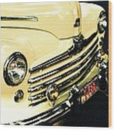 '48 Ford Wood Print by Cathie Tyler