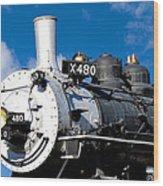 480 Locomotive Wood Print
