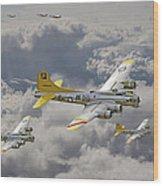 487th Bomb Group Wood Print