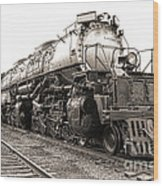 4884 Big Boy Wood Print