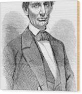 Abraham Lincoln (1809-1865) Wood Print