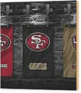 San Francisco 49ers Wood Print