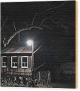 49er Ranch Stock Barn Wood Print