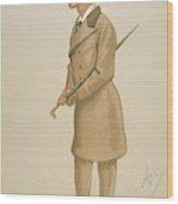 4th Earl Of Dunhaven, Amd Mount-earl Wood Print