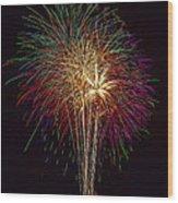 4th July #6 Wood Print