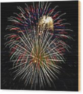 4th Of July 1 Wood Print by Marilyn Hunt