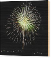 4th Of July 2 Wood Print