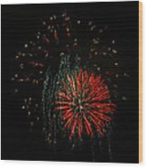 4th Of July 5 Wood Print