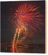 4th Of July Wood Print by Gary McCormick