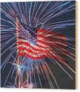 4th Of July Wood Print by Heidi Smith