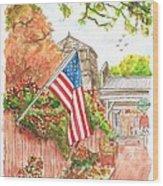 4th Of July In Los Olivos, California Wood Print by Carlos G Groppa