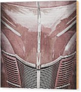 1940 Ford Deluxe Coupe Grille Wood Print