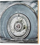 1956 Ford Thunderbird Spare Tire Wood Print