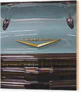 1957 Chevy Bel Air Wood Print by David Patterson