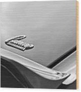1969 Chevrolet Camaro Emblem Wood Print