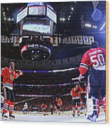 2015 Nhl Stanley Cup Final - Game Six Wood Print