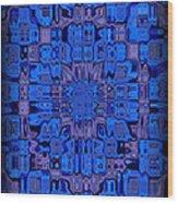 Abstract 119 Wood Print