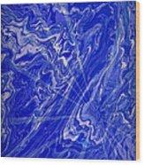 Abstract 34 Wood Print