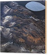 Aerial Photography Wood Print