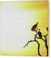 African Birds Wood Print