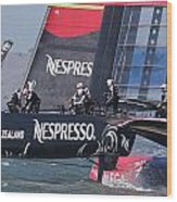 America's Cup San Francisco Wood Print