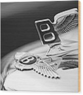Bentley Hood Ornament Wood Print
