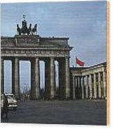 Berlin 1961 Wood Print