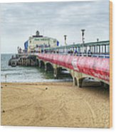 Bournemouth Pier Wood Print