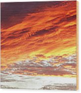Bright Sky Wood Print