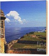 Castillo De San Cristobal Wood Print