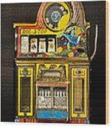 5 Cent Slot Machine Wood Print