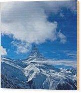 cervino - Matterhorn Wood Print