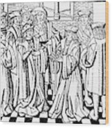 Charles Martel (c688-741) Wood Print