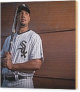 Chicago Whte Sox Photo Day Wood Print