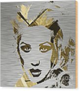 Christina Aguilera Collection Wood Print