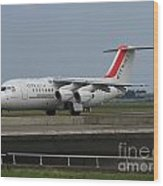 Cityjet British Aerospace Avro Rj85 Wood Print