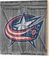 Columbus Blue Jackets Wood Print