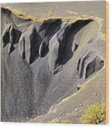Corona Volcano On Lanzarote Wood Print