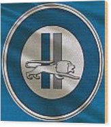 Detroit Lions Uniform Wood Print